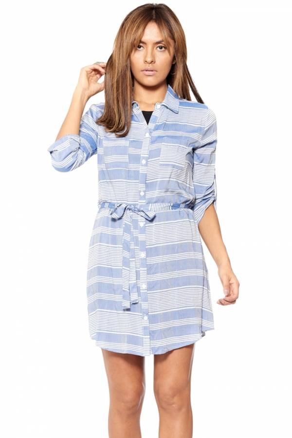 Blue Jean Baby Shirt Dress
