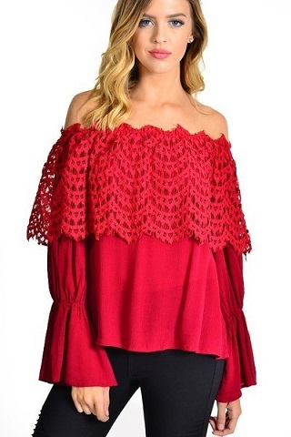 Holly Off-The-Shoulder Top